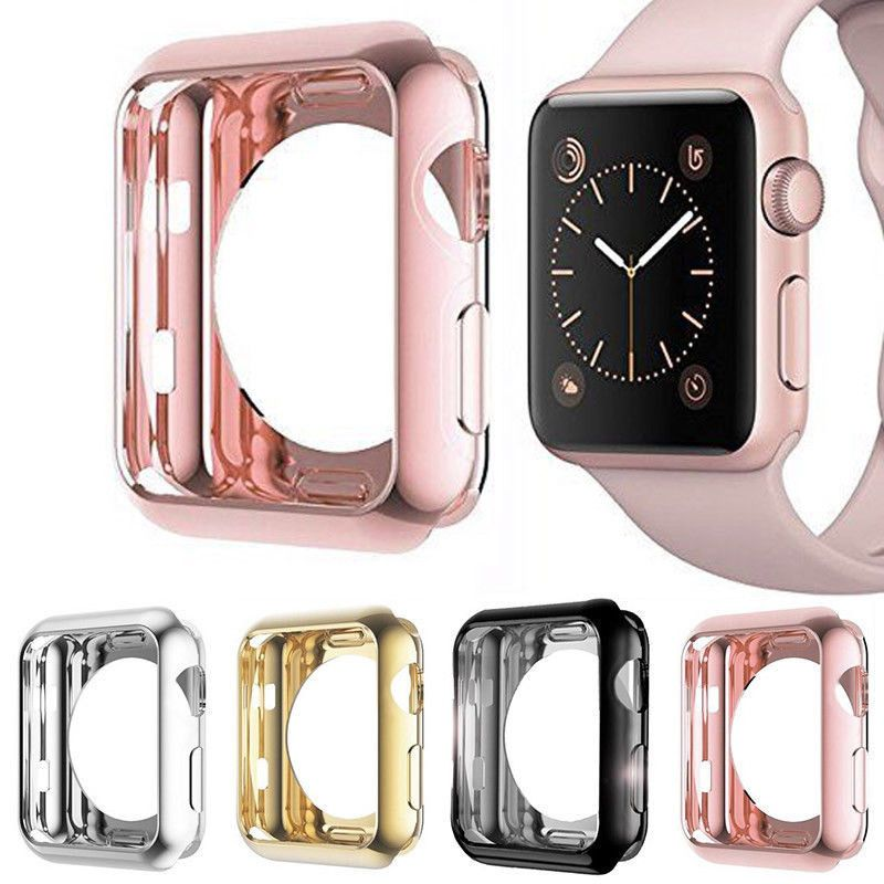 check out 68c3e c3b08 $0.99 - Apple Watch Series 3/2/1 Tpu Bumper Iwatch Protector Case ...