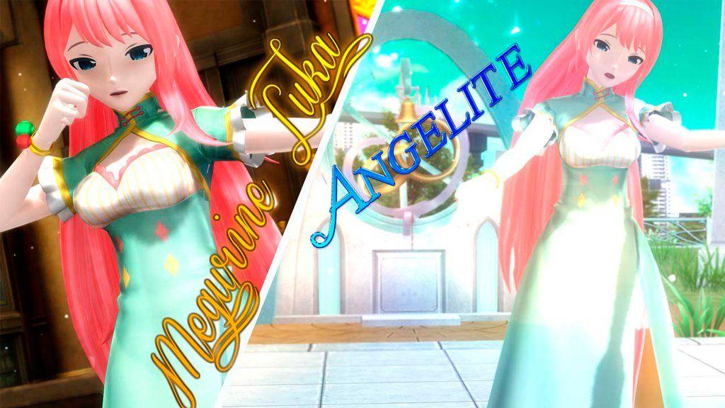 Megurine Luka Angelite by vocaloidkaito00