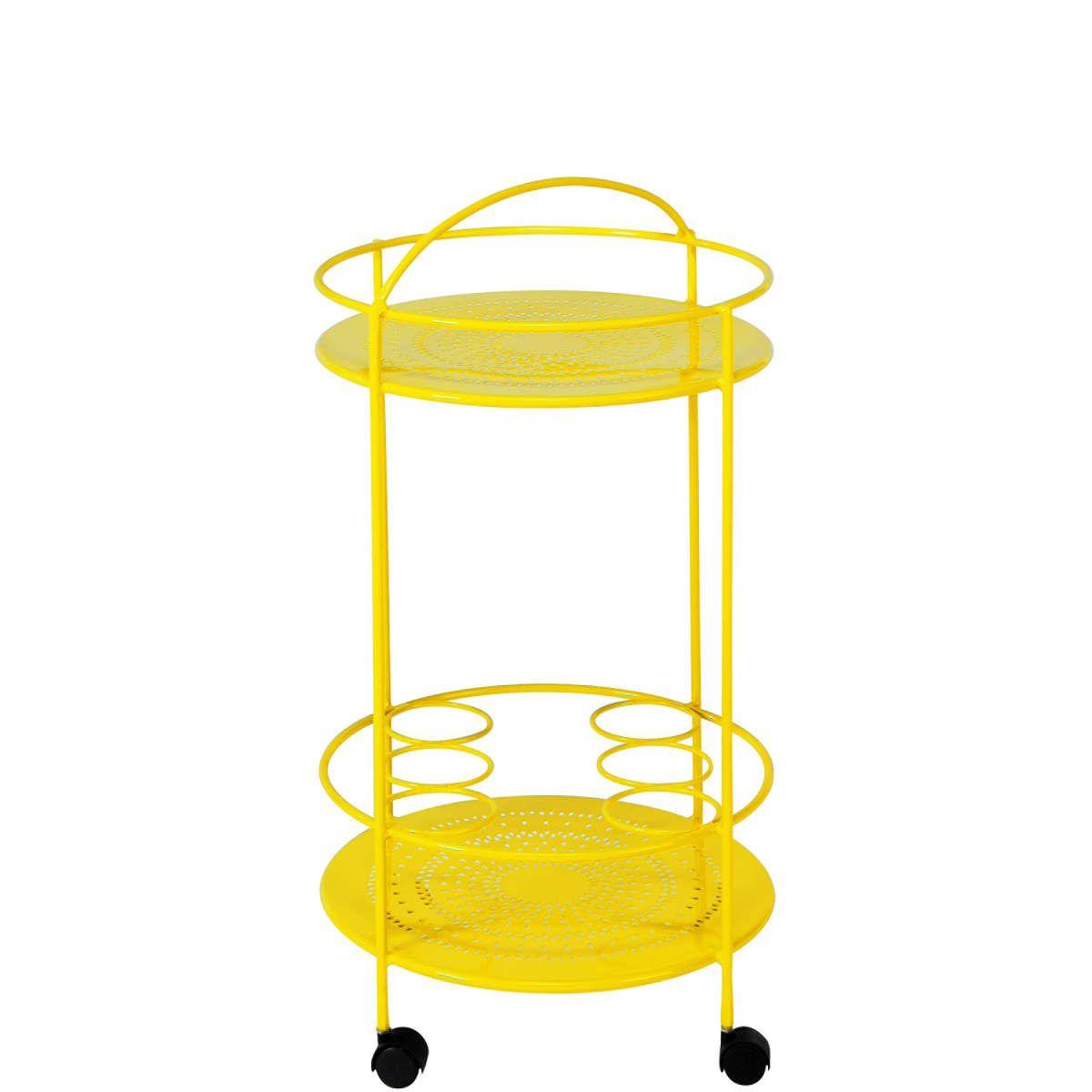 Butlers Gartenmöbel century servierwagen gelb butlers deutschland balkon