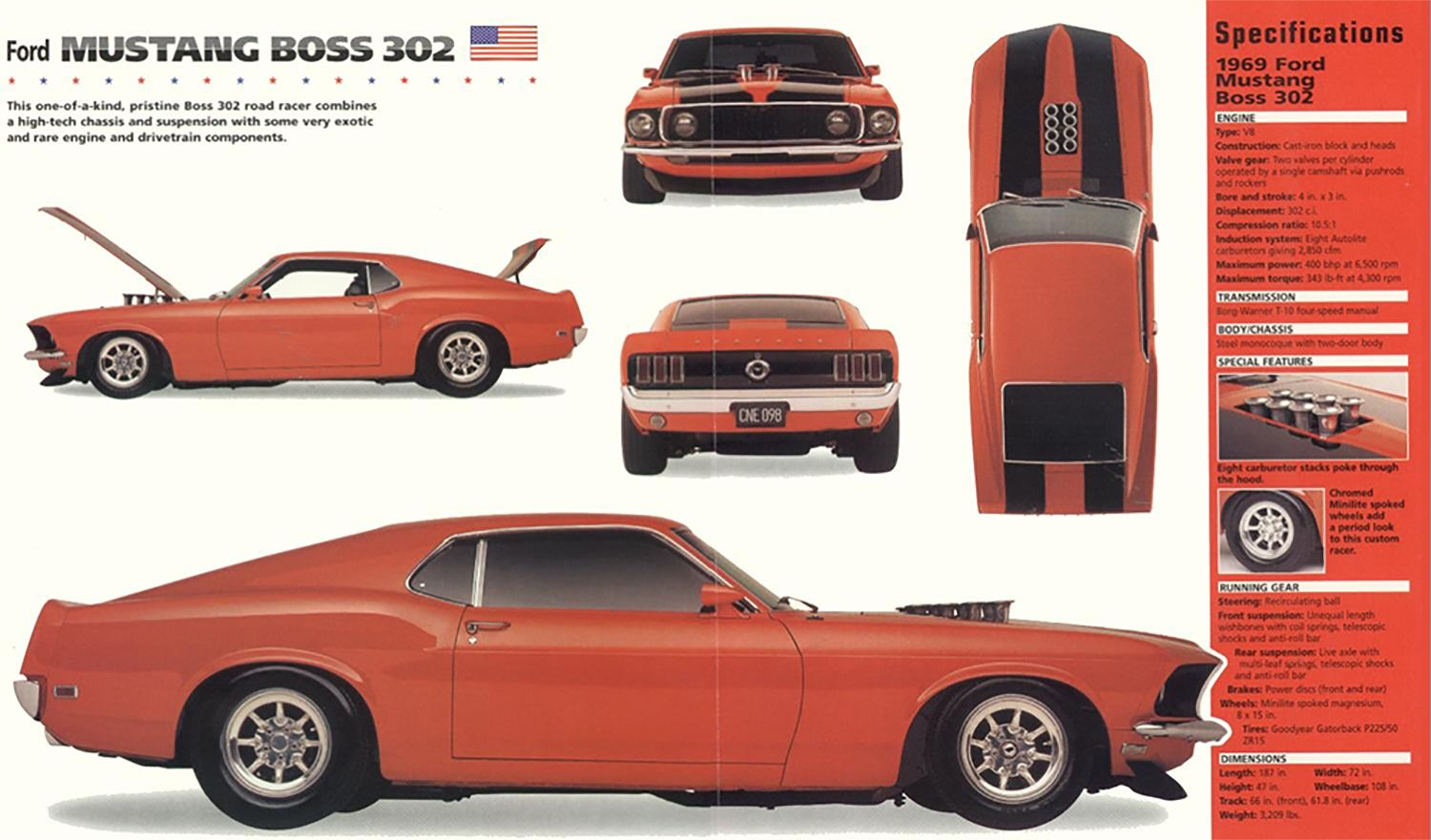 1969 Ford Mustang Boss Mustang Boss Ford Mustang Boss 1969 Ford Mustang