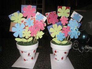 teacher gift idea - gift card flower pot   Gift Ideas   Pinterest ...