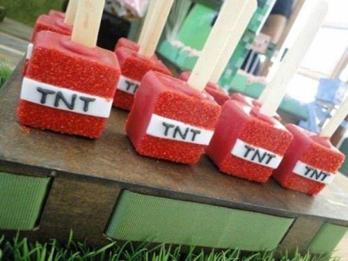 fiesta temtica de minecraft para nios fiestas y cumples - Fiestas Y Cumples