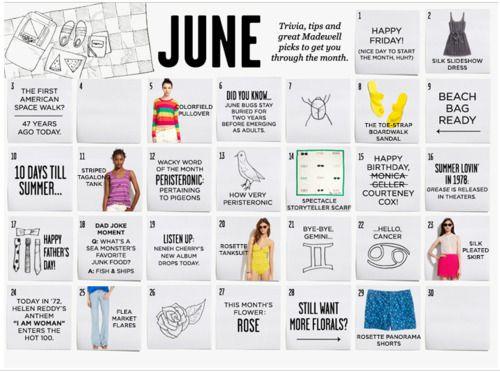 Cute Calendar Design