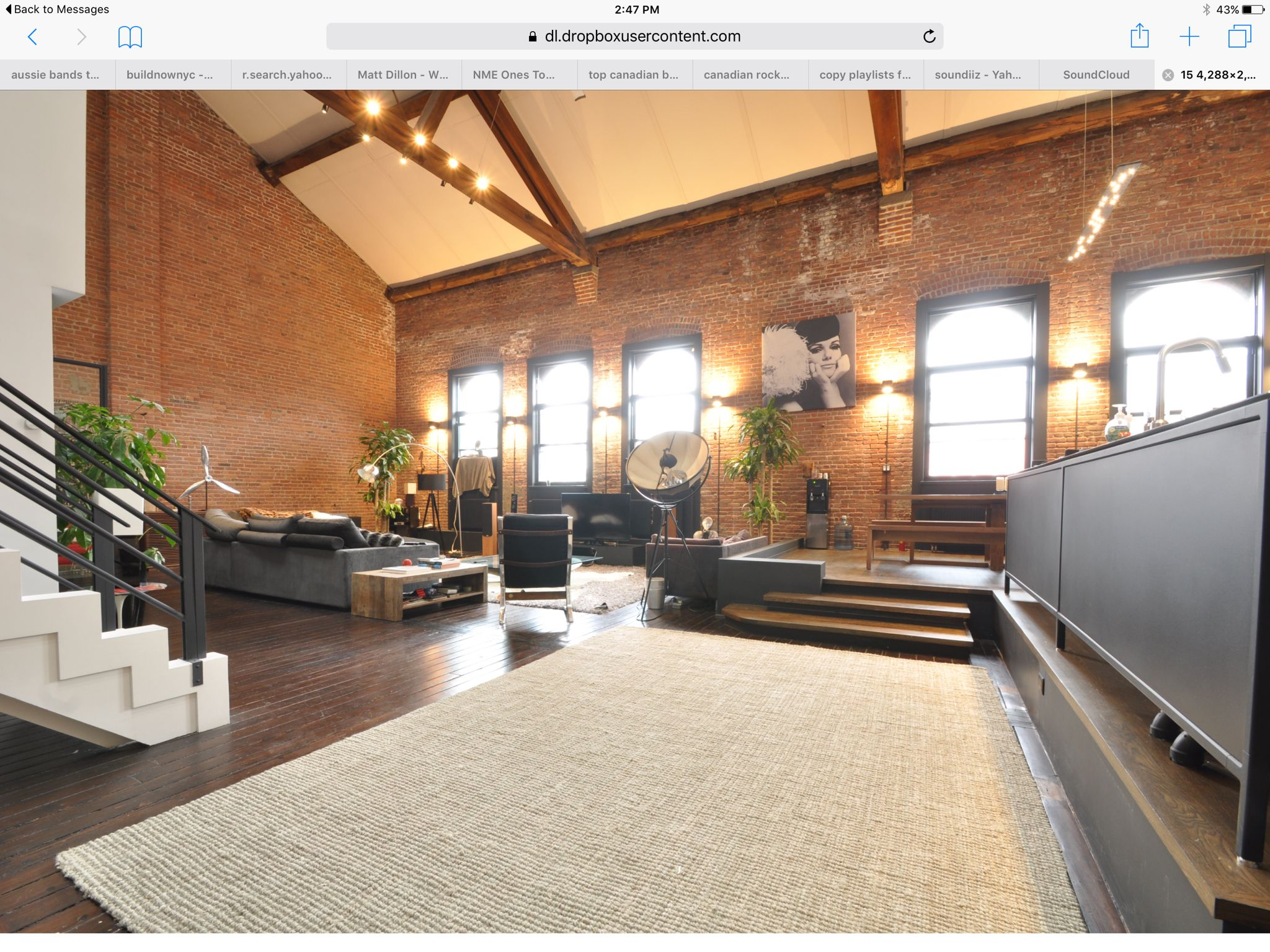 EXCLUSIVE Wells Fargo Loft With 45' Ceilings, NYC Views