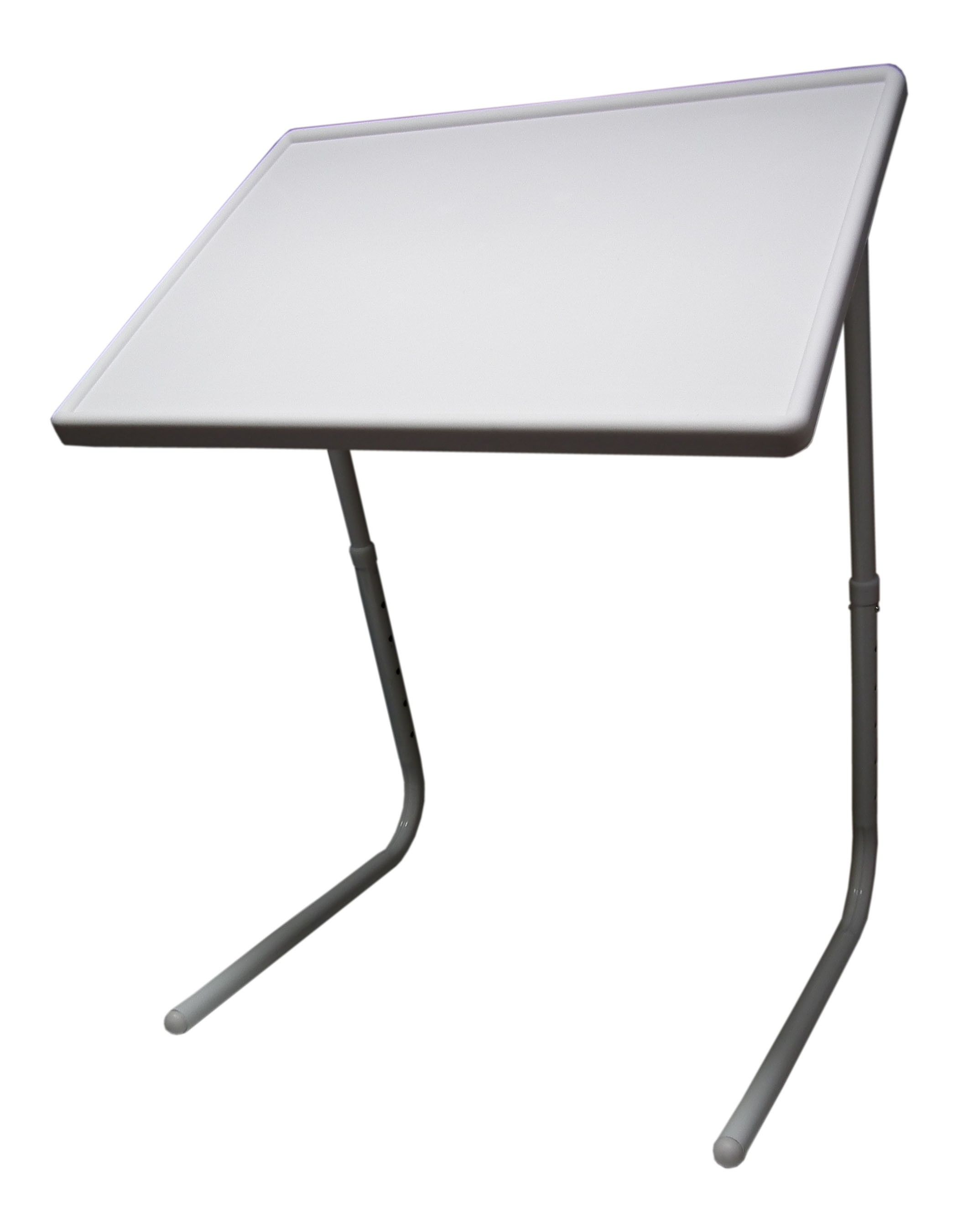 Niccol Glass Top Adjustable Study Table - Urban Ladder