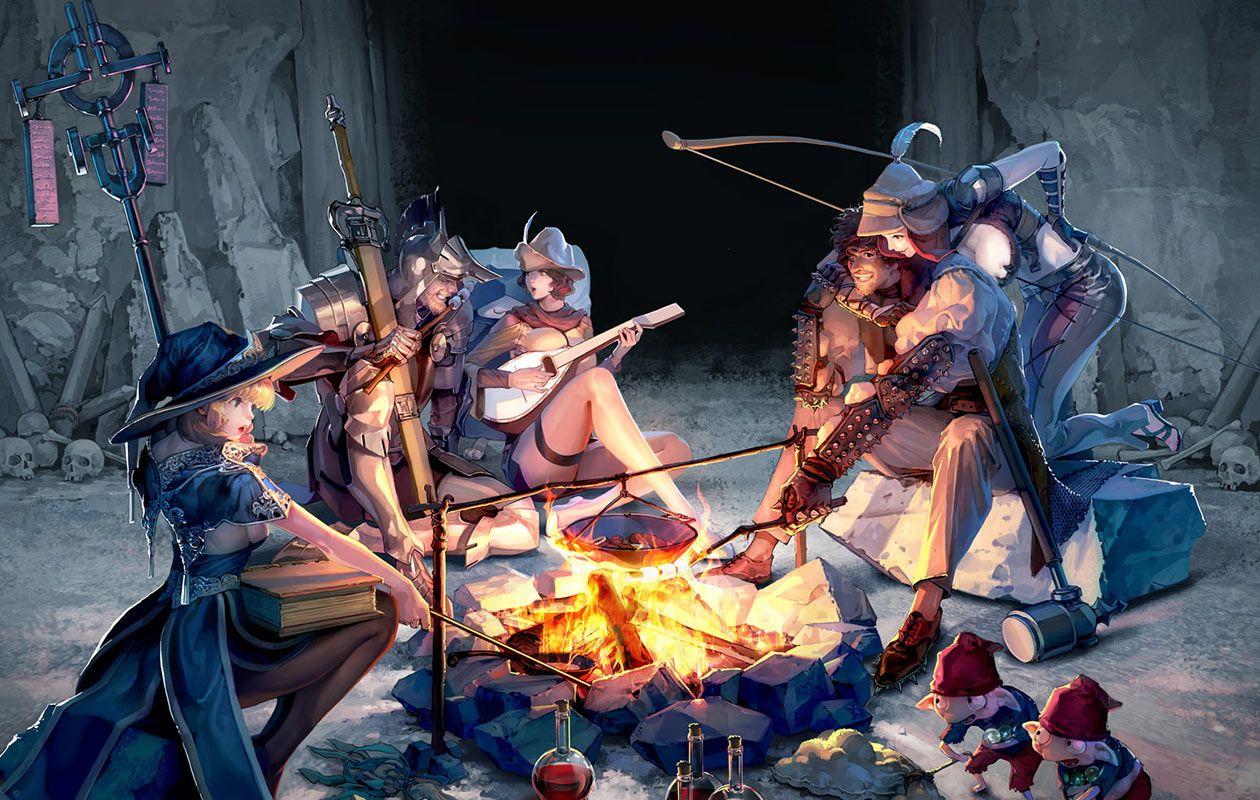 Mabinogi II: Arena - Campfire