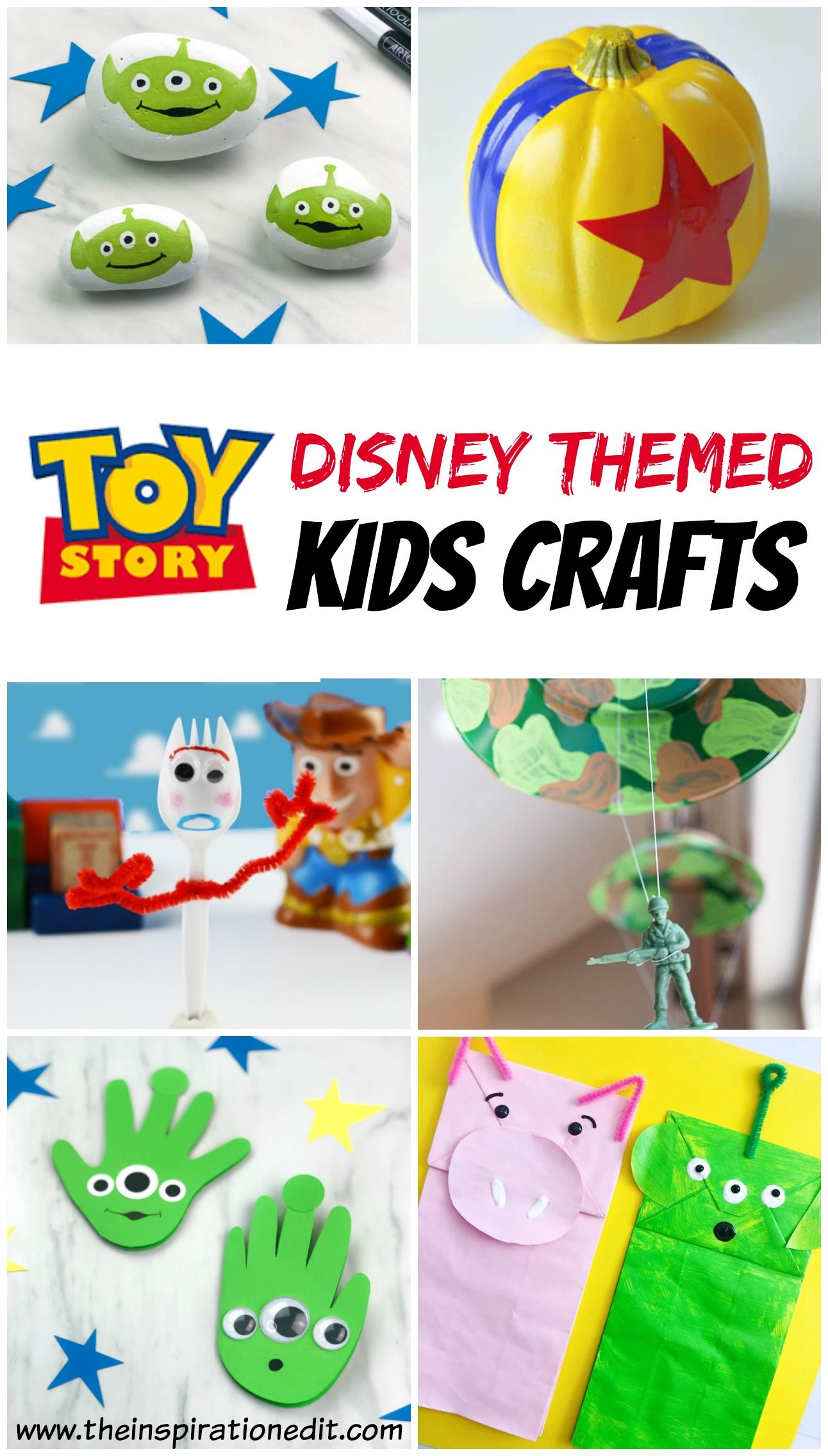 Toy Story Craft Ideas For Kids · The Inspiration Edit
