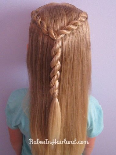 Letter Y Hairstyle