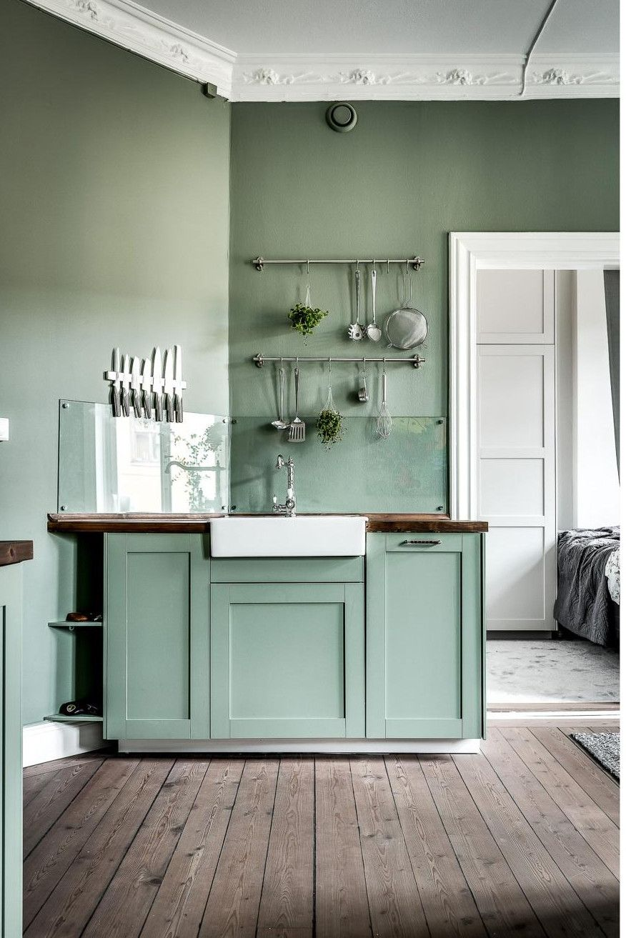 Ambiance Vert D Eau Planete Deco A Homes World Cuisine Kitchen