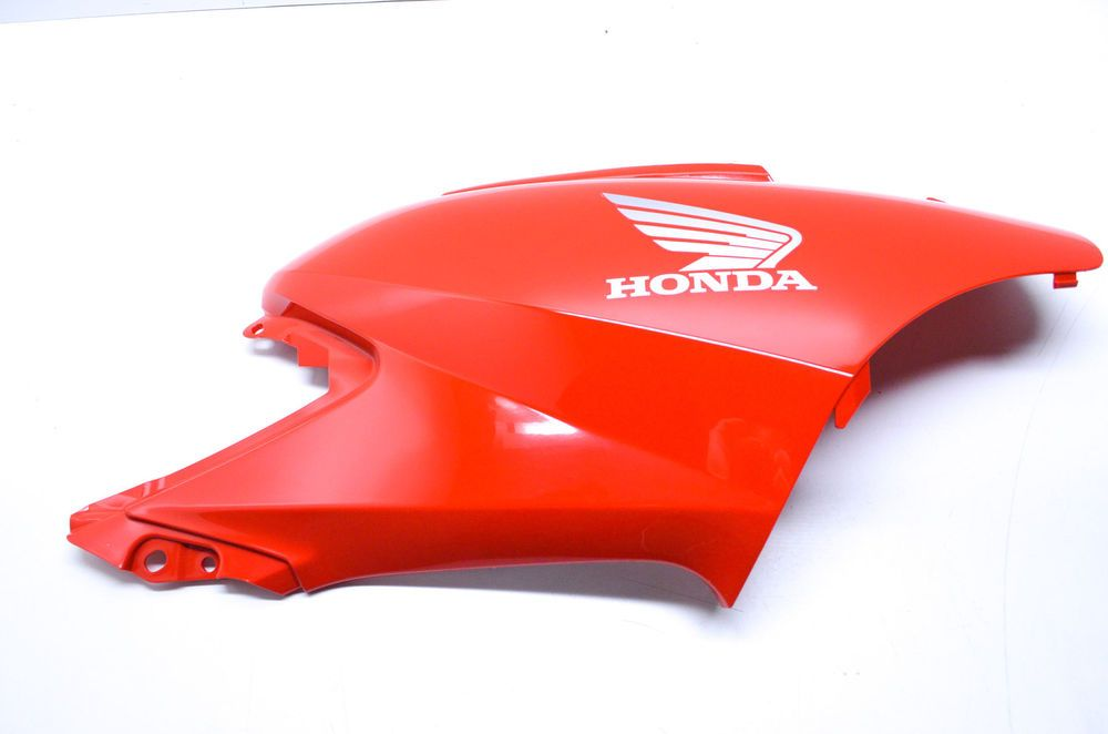 New Oem Honda Red Right Tank Side Cover Panel Nos Ebay Motors Parts Amp Accessories Motorcycle Parts Ebay Honda Motorcycle Fender Plastic Repair
