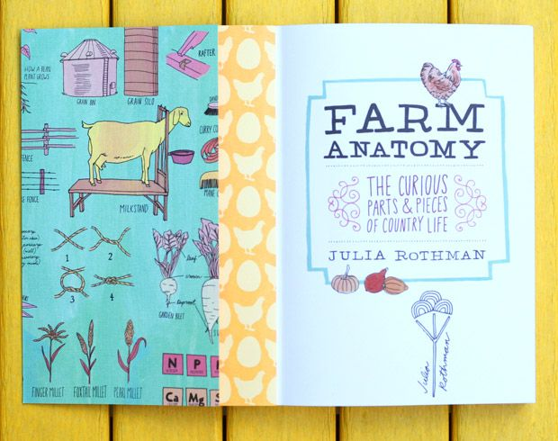 Farm Anatomy: Julia Rothman\'s Illustrated Guide to Country Life ...