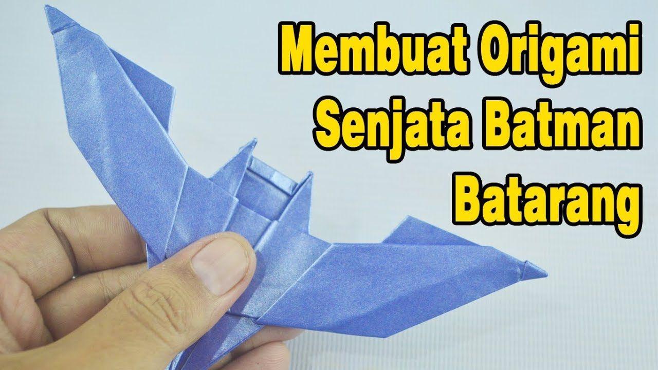 How To Make An Origami Batman Weapon Origami Batman