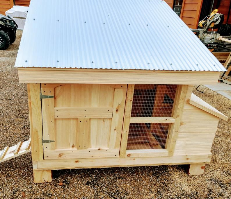Small Flock Chicken Coop Plans Simple Strong And Easy To Make