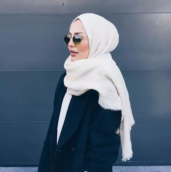 How To Wear Hijab Styles Step By Step In 28 Different Ways -   18 style Hijab winter ideas