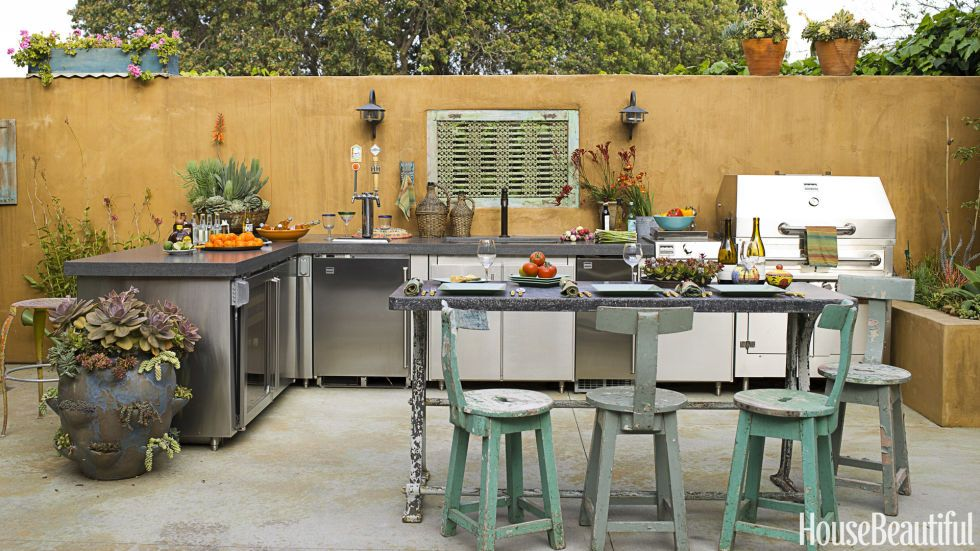 20 Incredible Outdoor Kitchen Ideas  Earthy Kitchens And Outdoor Fair Outside Kitchens Designs Decorating Inspiration
