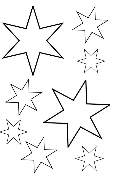Weihnachten Ausmalbilder Stern 01 | ausmalbilder | Pinterest