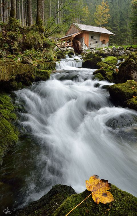etherealvistas:  Gollinger Mill (Austria) by  Christiane...