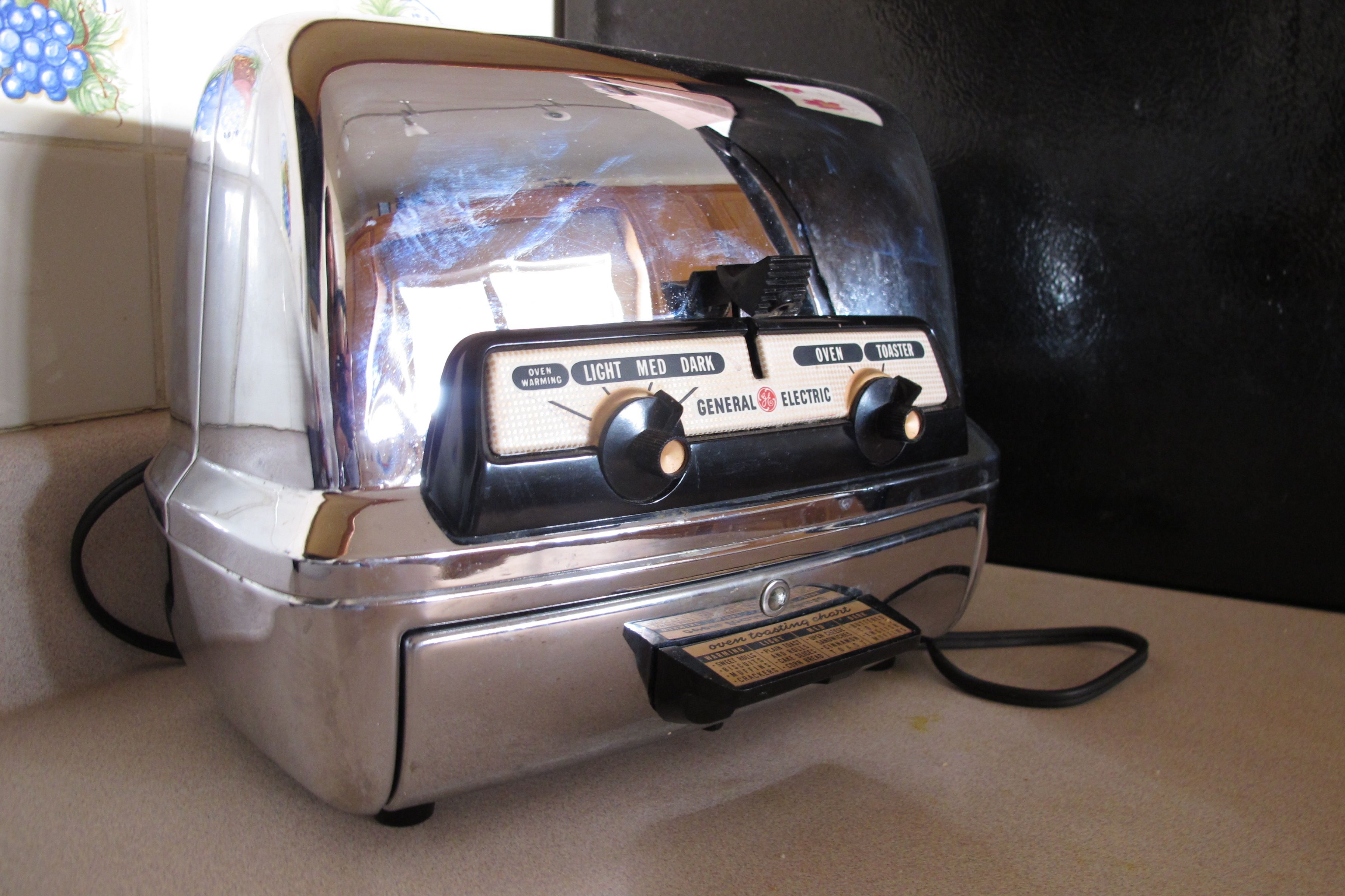 Vintage Ge Toaster Toaster Wood Spa Toaster Oven