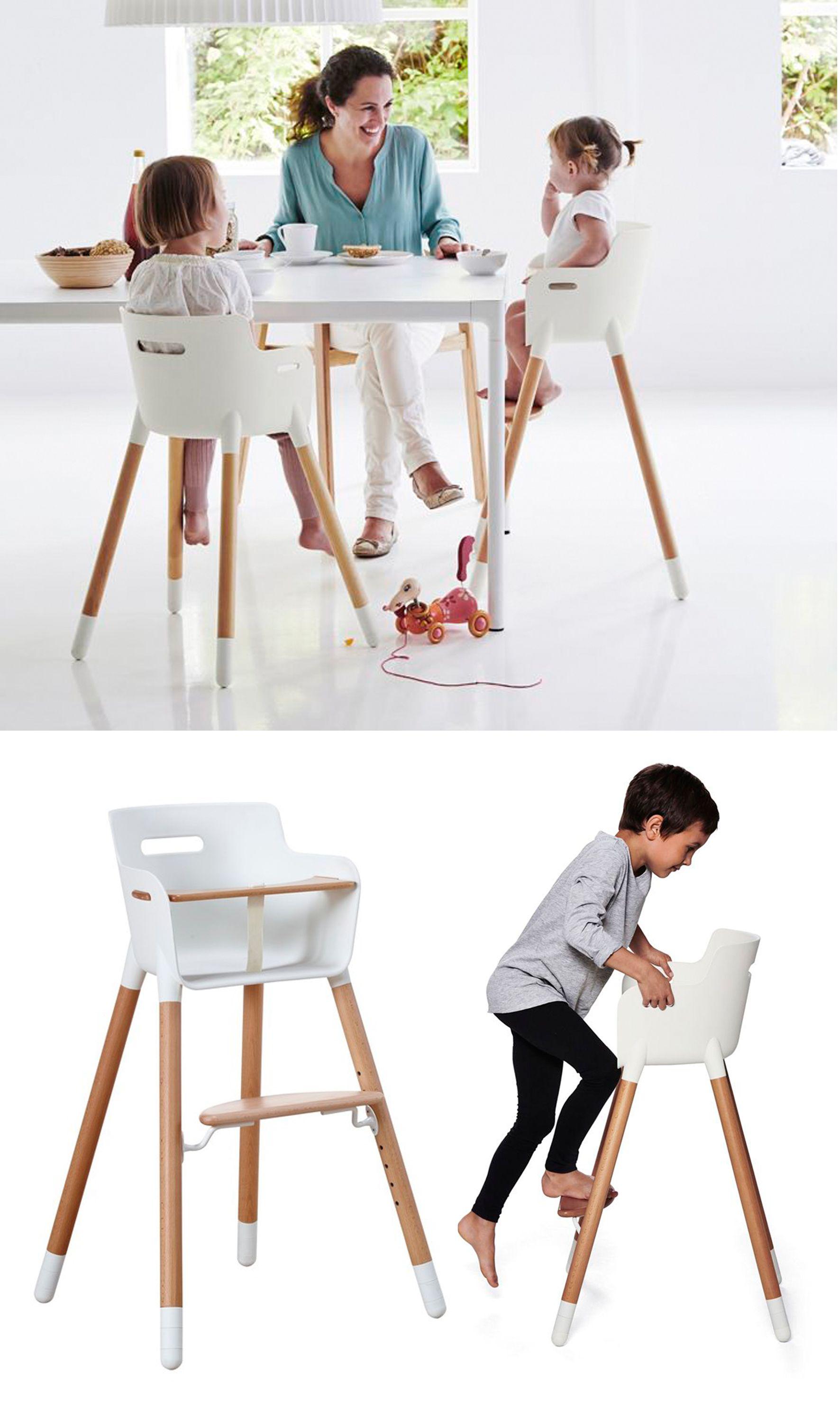 Baby In Kinderstoel.De Deense Flexa Baby Kinderstoel Is In 2013 Bekroond Met De
