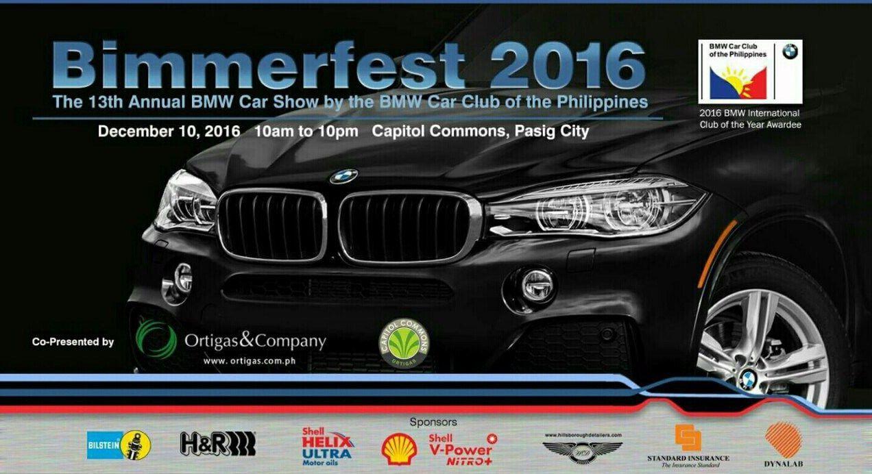 BMW Car Club of the PH to unveil 2016 Bimmerfest