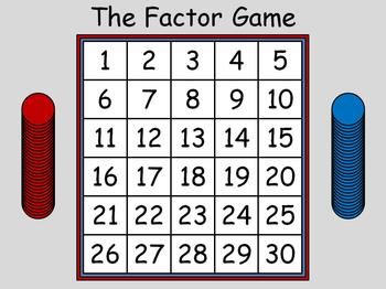 picture relating to Factor Game Printable identified as Variable Recreation Faculty-centre suggestions Game titles, Math video games