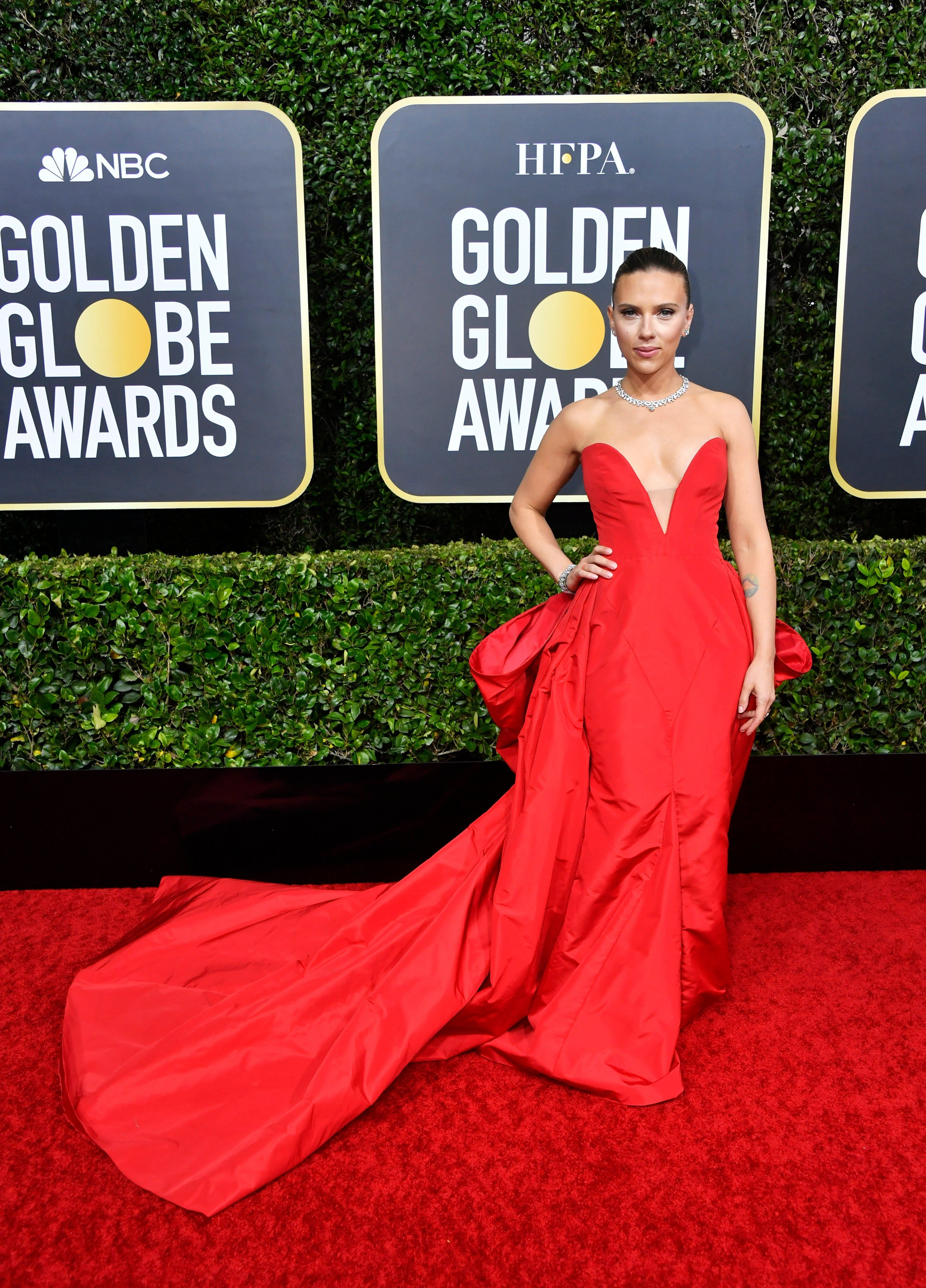 The Golden Globes Red Carpet Is One Fashion Moment After Another