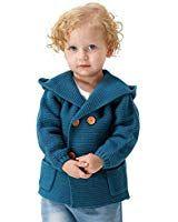 85933099051d MiMiXiong Baby Boy Cardigan Sweater Cartoon Hoodies Long Sleeve ...