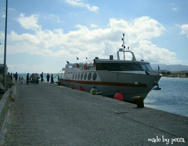 You can take the boat from mastichari  (kos) to the beautiful island kalymnos