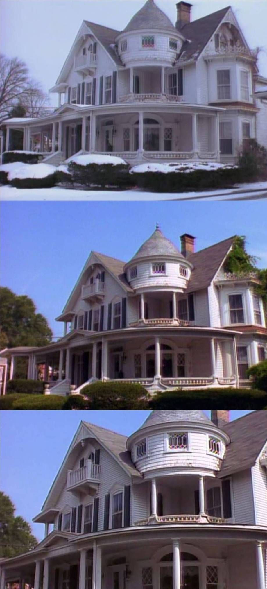 Spellmans House From Sabrina The Teenage Witch Home Exterior