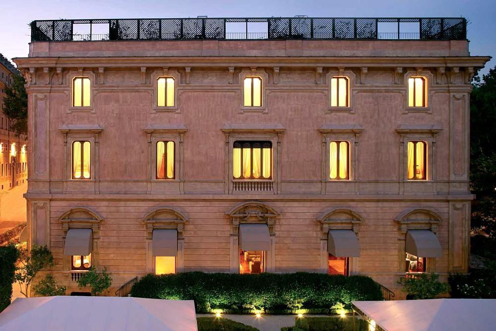 Villa Spalletti Trivelli Small Luxury Hotels Rome Hotels Villa