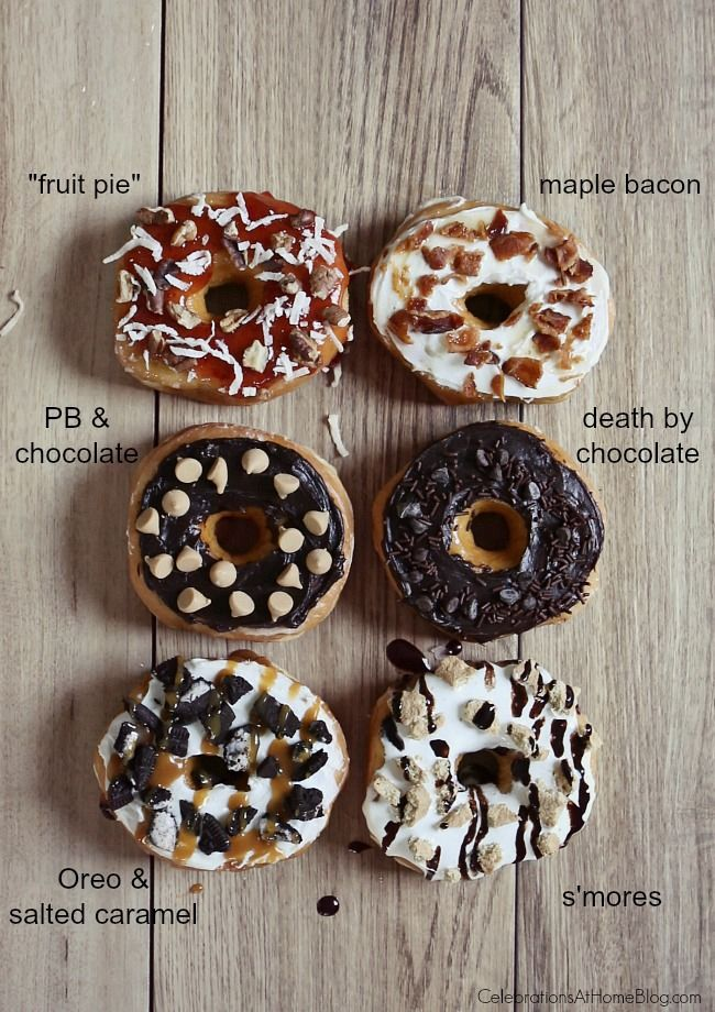 Donut Bar with Toppings Galore | Donut bar, Donuts and Bar