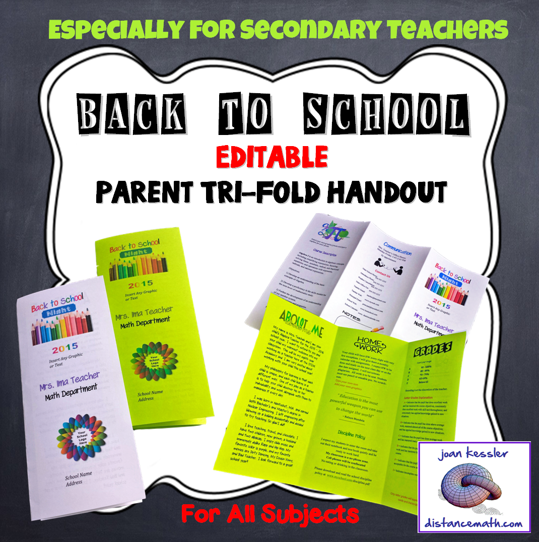 Editable open house parent night back to school tri fold brochure editable open house parent night back to school tri fold brochure template toneelgroepblik Images