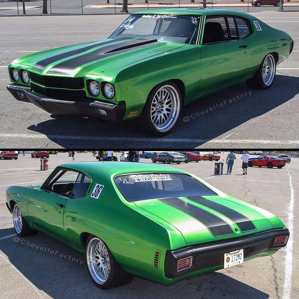 "1970 Chevelle BecauseSS , LQ9 6.0 / 4L65E. 19"" XXR with"