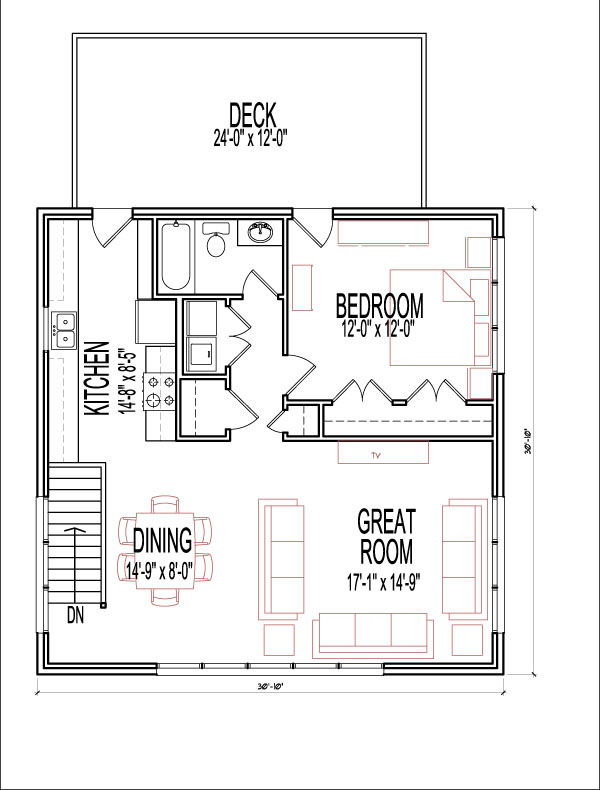 1 Bedroom 2 Story 900 Sf Garage Plans Apartment Prairie Style Garage Apartment Plans House Plans House Floor Plans