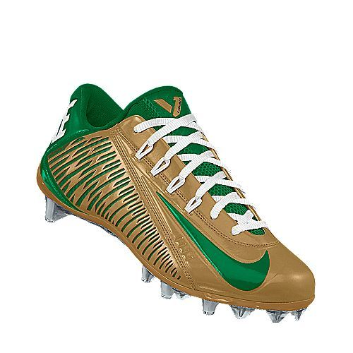finest selection bd79d 2cdb2 I designed the gold William   Mary Tribe Nike football shoe.