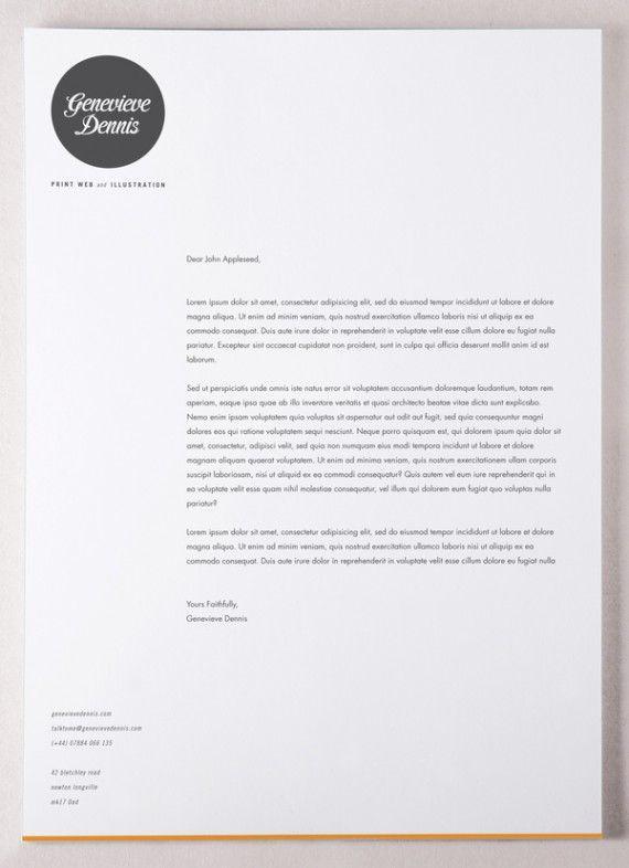 letterhead inspiration 24