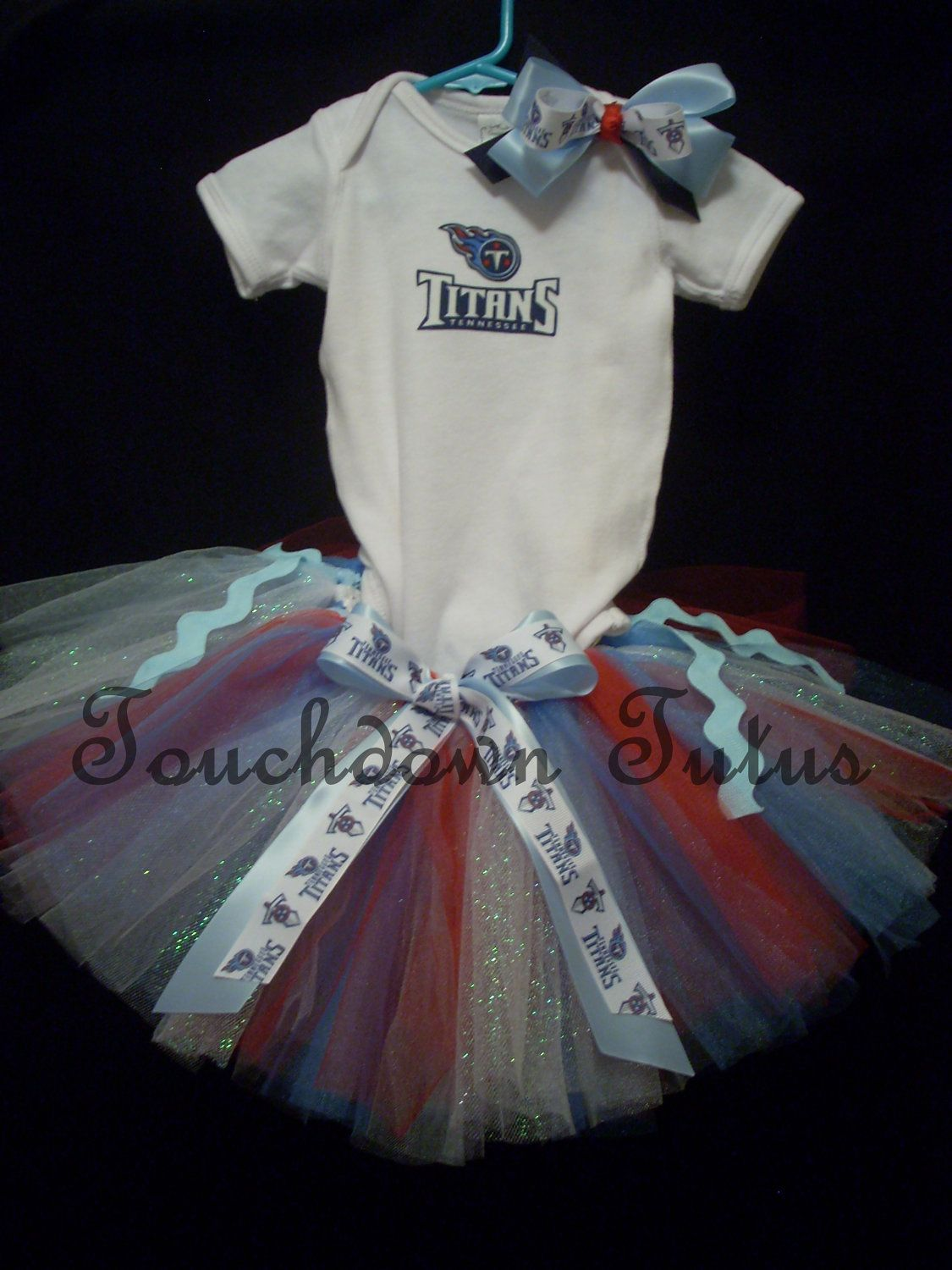 d559349e Tennessee Titans Tutu Outfit - make to match your teams!   cute baby ...