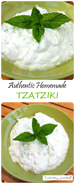 Going greek authentic homemade tzatziki recipe tzatziki going greek authentic homemade tzatziki greek food recipesdip recipesmeze recipeseasy forumfinder Gallery