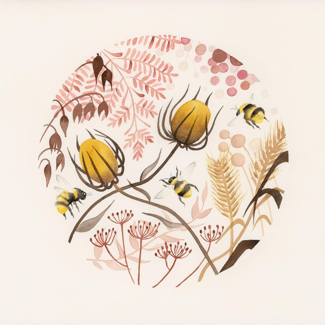 Golden Afternoon Art prints, Art, Illustration art