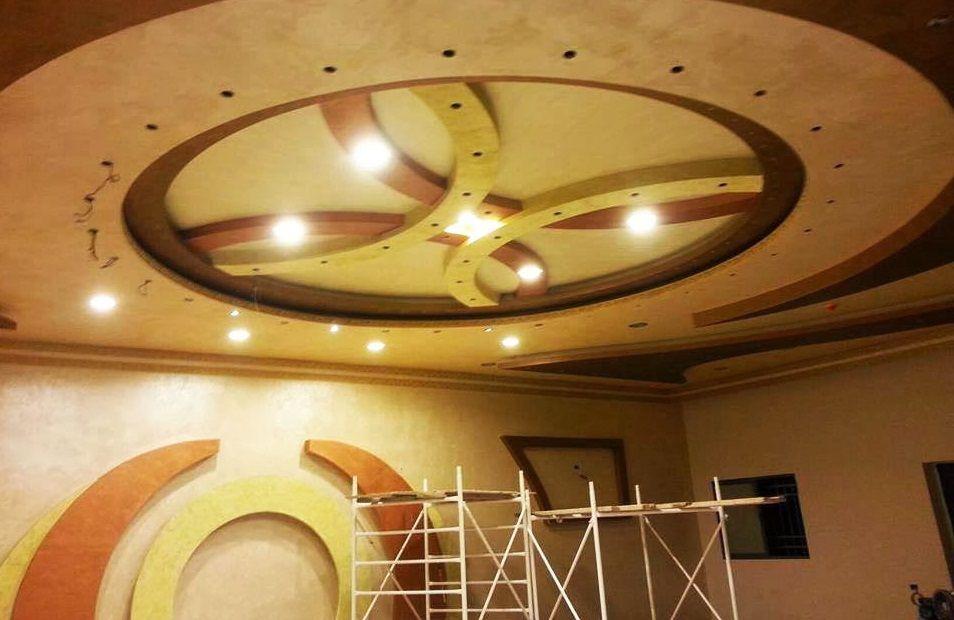 Faux plafond pour salon deco faux plafond pinterest architecture - Decoration plafond salon ...