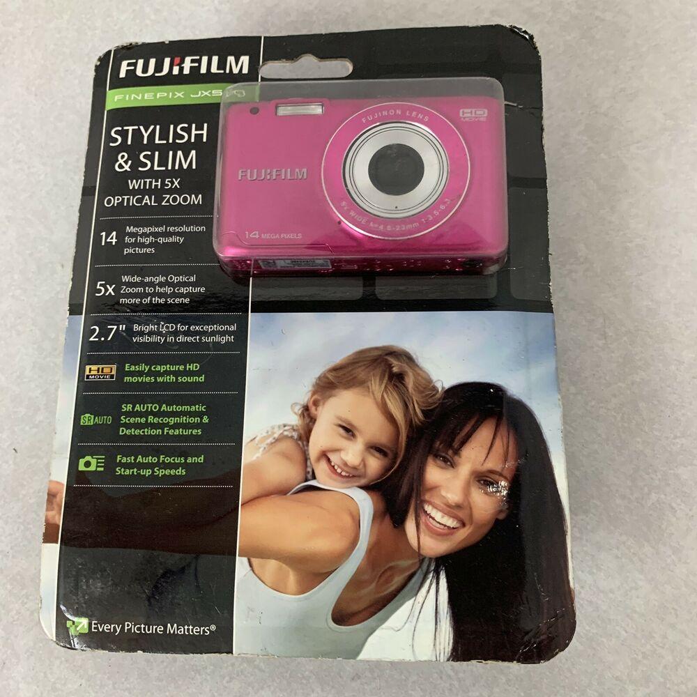 Details about Fujifilm FinePix JX Series JX500 14.0MP