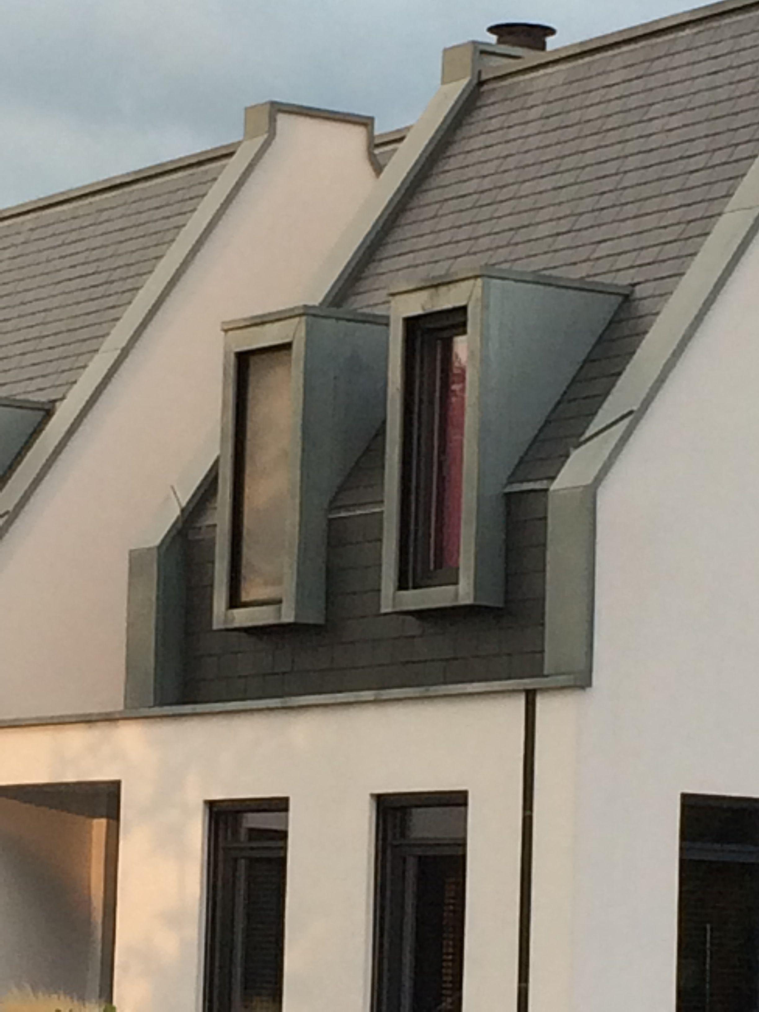Dakkapellen afgewerkt met zink | Dormers | Pinterest | Dachgauben ...
