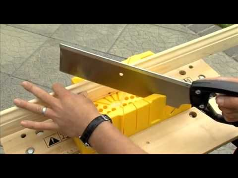 baseboards how to use a mitre box using mitre