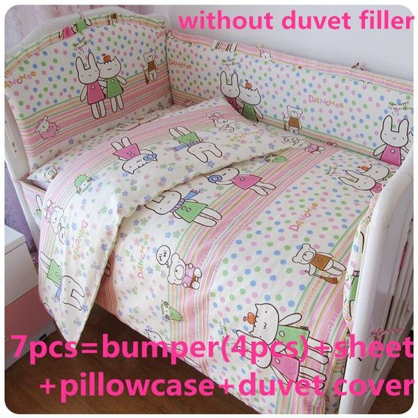 Discount 6 7pcs Baby Bedding Set Material Cotton Comfortable