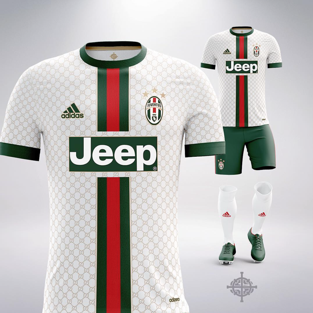 FOOTBALL X LUXE BY MARLON SETTPACE - Juventus x Gucci Sports Team Apparel adddb270b
