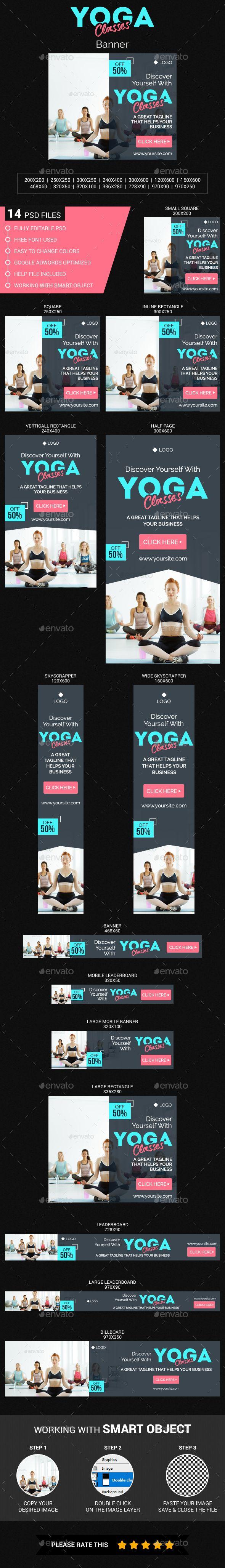 Yoga Classes Banner Banner Ads Banner Yoga Class