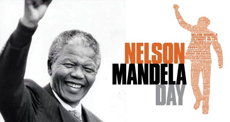 Nelson Mandela Day Nelson Mandela Day Nelson Mandela Mandela