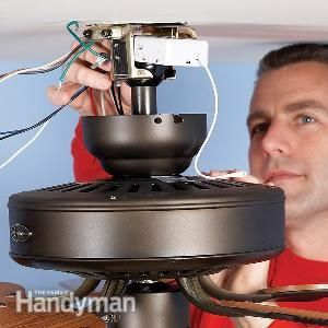 Learn How To Upgrade A Ceiling Fan With A Remote Control And Replace A Burned Out C Ceiling Fan With Remote Ceiling Fan Installation Fan Installation