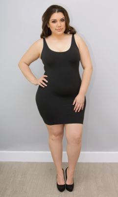 Check out the deal on Yummie by Heather Thomson Andrea Built Up Slip at Kiyonna Clothing