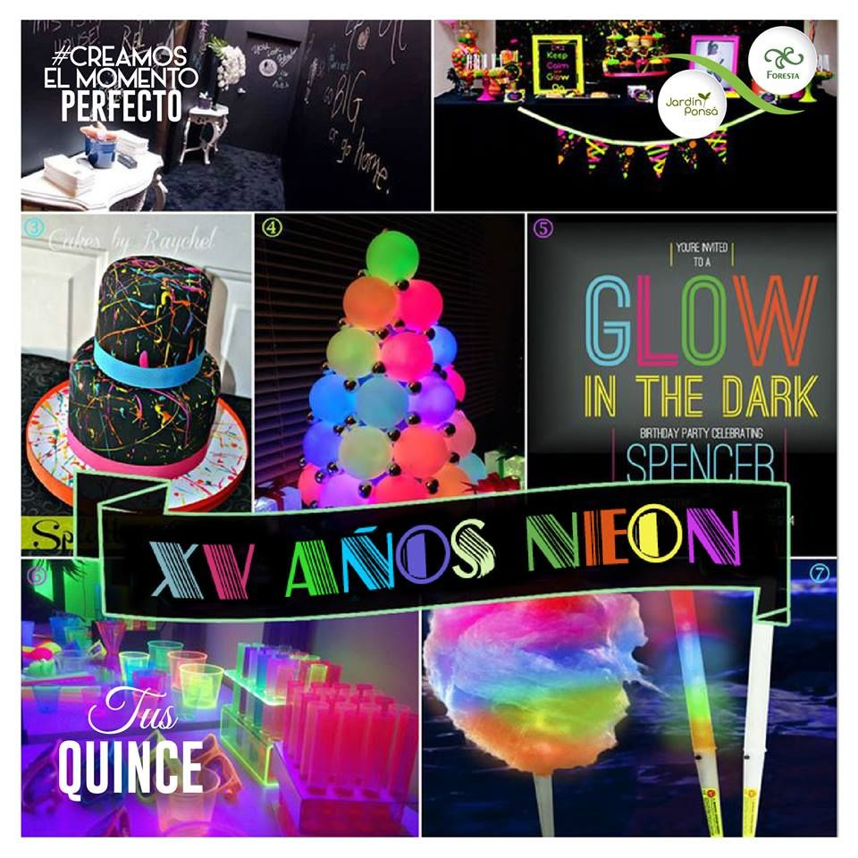 Party Cake For Glow In The Dark Theme